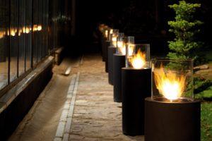 Totem Garden Fire
