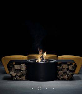 Circus outdoor fire by Glamm